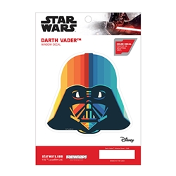 Picture of Star Wars Darth Vader Chromatic Window Decal