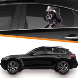 Picture of Star Wars Darth Vader Passenger Series Window Decal