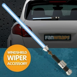 Picture of Star Wars Obi-Wan Kenobi Lightsaber Wiper Blade Accessory