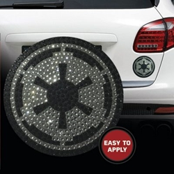 Picture of Star Wars Imperial Insignia Crystal Auto Decal