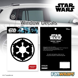 Picture of Star Wars Imperial Insignia Window Decal