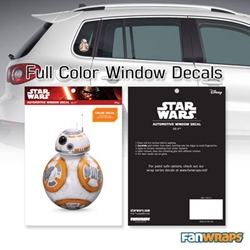 Picture of Star Wars BB-8 Window Decal
