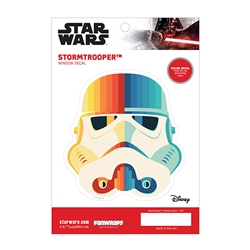 Picture of Star Wars Stormtrooper Chromatic Window Decal