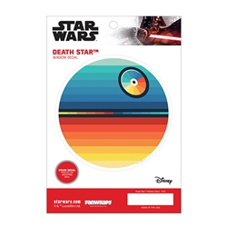 Picture of Star Wars Death Star Chromatic Window Decal