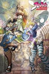 """Picture of Jojo's Bizarre Adventure Joseph and Caesar 24"""" x 36"""" Poster"""
