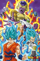 "Picture of Dragon Ball Super God Super 24"" x 36"" Poster"