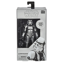 Picture of Star Wars Black Series Stormtrooper Carbonized Collection Action Figure