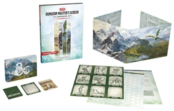Picture of Dungeons and Dragons RPG Dungeon Master's Screen Wilderness Kit