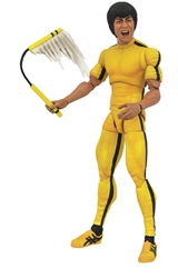 Picture of Bruce Lee Select Yellow Jumpsuit Action Figure