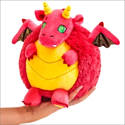"Picture of Red Dragon Mini 7"" Squishable Plush Figure"