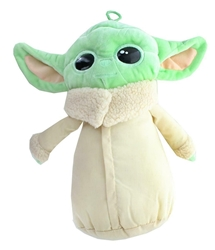 """Picture of Star Wars Mandalorian 12"""" Baby Yoda Coin and Clip Plush"""