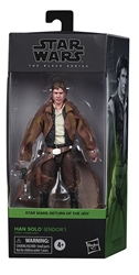 "Picture of Star Wars Han Solo Endor Black Series 6"" Action Figure"