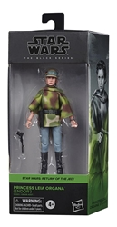 "Picture of Star Wars Leia Endor Black Series 6"" Action Figure"
