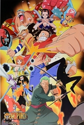 """Picture of One Piece Shonen Jump 24"""" x 36"""" Poster"""