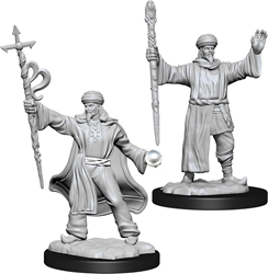 Picture of Dungeons and Dragons Nolzur's Marvellous Unpainted Human Male Wizard Miniatures