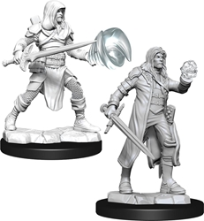 Picture of Dungeons and Dragons Nolzur's Marvelous Multiclass Fighter + Wizard Male Miniatures