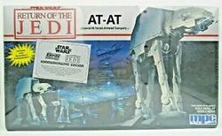 Picture of Star Wars Return of the Jedi AT-AT Scale Model Kit 1989