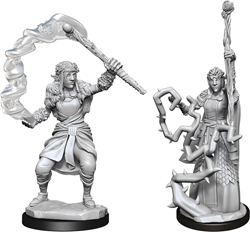 Picture of Dungeons and Dragons Nolzur's Marvellous Unpainted Firbolg Female Druid Miniatures