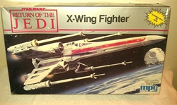 Picture of Star Wars Retun of the Jedi X-WING Scale Model Kit 1989