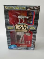 Picture of Star Wars Micro Machines Action Fleet Series Alpha concept model prototype vehicles final design