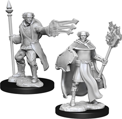 Picture of Dungeons and Dragons Nolzur's Marvelous Multiclass Cleric + Wizard Male Miniatures