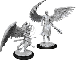 Picture of Dungeons and Dragons Nolzur's Marvelous Deva & Erinyes Miniatures
