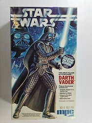 Picture of Star Wars Authentic Darth Vader Scale Model kit 1979