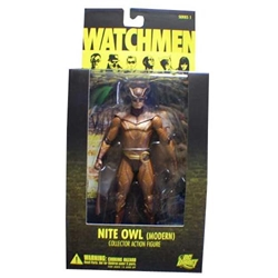 Picture of Watchmen Nite Owl (Modern) Series 1 Collector Action Figure