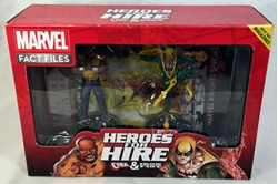 Picture of Marvel Fact Files Heroes For Hire Luke Cage and Iron Fist