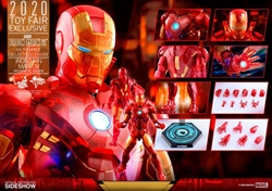 Picture of Iron Man Mark IV Holographic Sixth Scale Figure by Hot Toys
