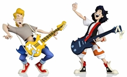 """Picture of Bill and Ted's Excellent Adventure Wyld Stallyns Toony Classics 6"""" Figure 2-Pack"""