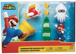 Picture of Nintendo 2-1/2in Underwater Diorama Set