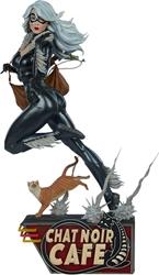 Picture of Black Cat Mark Brooks Statue