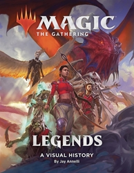 Picture of Magic the Gathering Legends Visual History HC