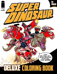Picture of Super Dinosaur Deluxe Coloring Book