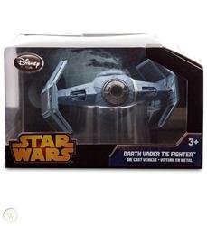 Picture of Star Wars Darth Vader Tie Fighter Die Cast Vehicle Disney Store Exclusive