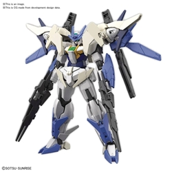 Picture of Gundam Build Divers 00 Gundam New Type HGBD Model Kit