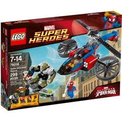 Picture of LEGO Marvel Super Heroes Ultimate Spider Man Spider Helicopter Rescue Set