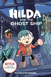 Picture of Hilda and the Ghost Ship Netflix Tie In SC Novel