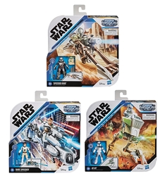 Picture of Star Wars Captain Rex with AT-RT Mission Fleet Small Vehicle