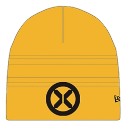 Picture of X-Men Symbol Gold Knit Beanie