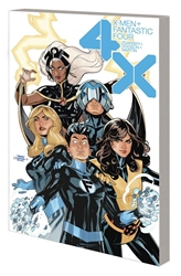 Picture of X-Men/Fantastic Four 4X SC