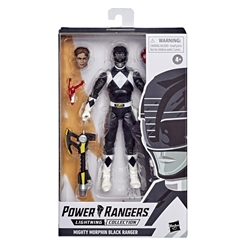 "Picture of Power Rangers Mighty Morphin Black Ranger Lightning Collection 6"" Action Figure"