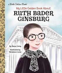 Picture of My Little Golden Book About Ruth Bader Ginsburg