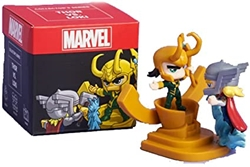 Picture of Lootcrate Marvel Thor VS Loki Collectible Collectors Mini Figure