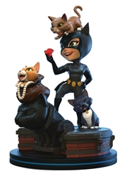 Picture of Catwoman Batman Animated Q-Fig Elite Diorama Figure