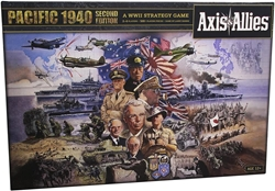 Picture of Axis and Allies Pacific 1940 Board Game
