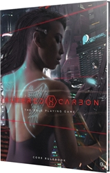 Picture of Altered Carbon RPG Core Rulebook Deluxe HC