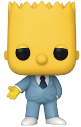 Picture of Pop Animation Simpsons Gangster Bart Vinyl Figure