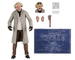 """Picture of Back to the Future Doc Brown Ultimate 7"""" Figure"""